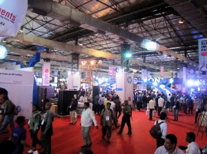 The Consumer Electronics Imaging Fair 2014, in Mumbai