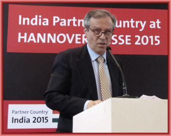 His Excellency, Michael Steiner, Ambassador of Germany to India